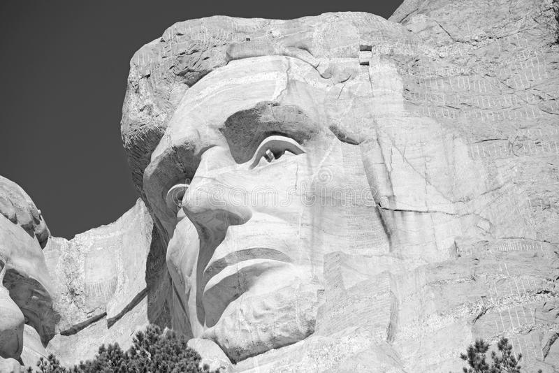 Mémorial national du mont Rushmore, Black Hills, le Dakota du Sud, Etats-Unis images libres de droits