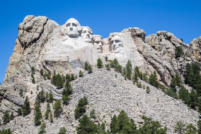 Mémorial national du mont Rushmore, le Dakota du Sud, Etats-Unis photo libre de droits