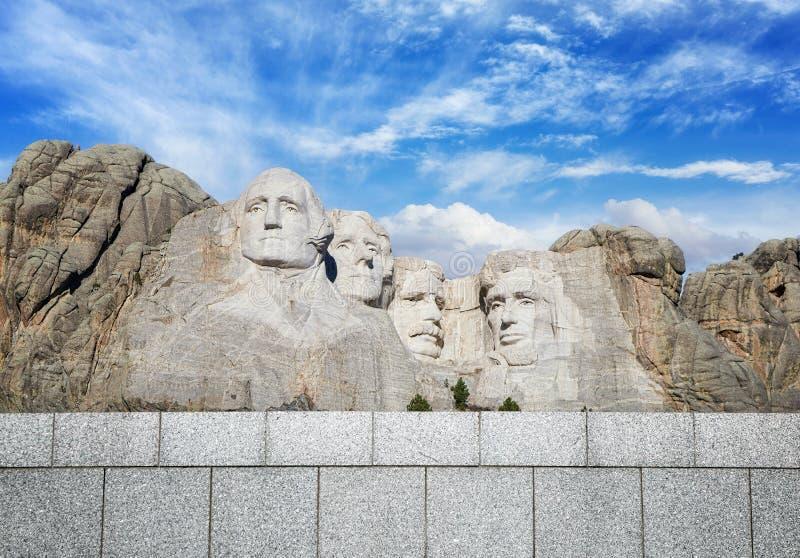 Mémorial national du mont Rushmore, le Dakota du Sud, Etats-Unis images libres de droits