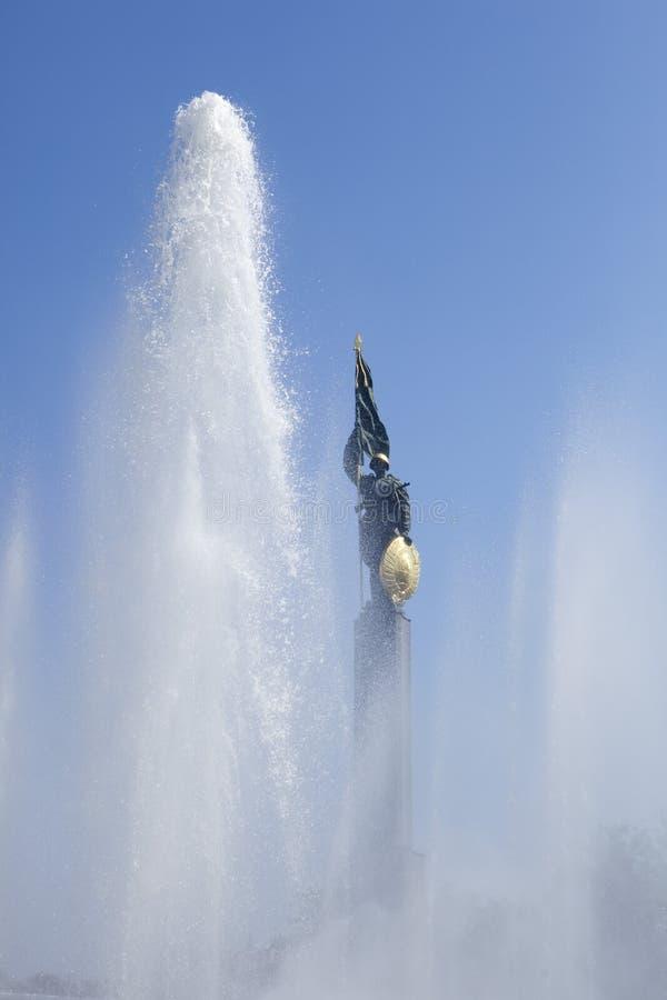Mémorial russe à Vienne image stock