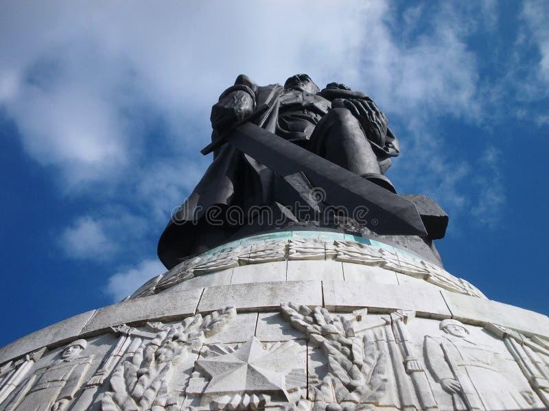 Mémorial russe de guerre à Berlin photographie stock