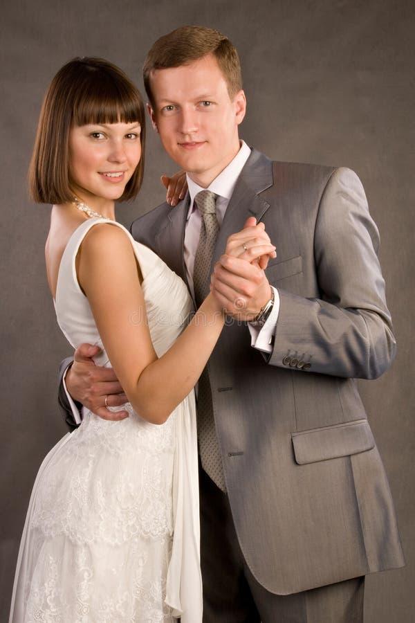 Ménages mariés heureux photos stock