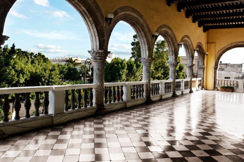 Mérida-Architektur lizenzfreie stockbilder