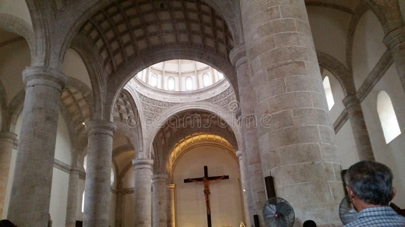 Mérida-` s Kathedrale lizenzfreie stockbilder