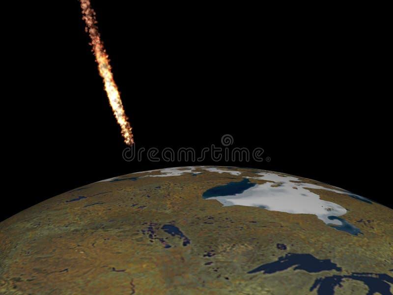 météorite d'automne illustration de vecteur