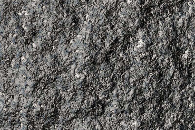 Météorite ou charbon en pierre de fer photographie stock libre de droits