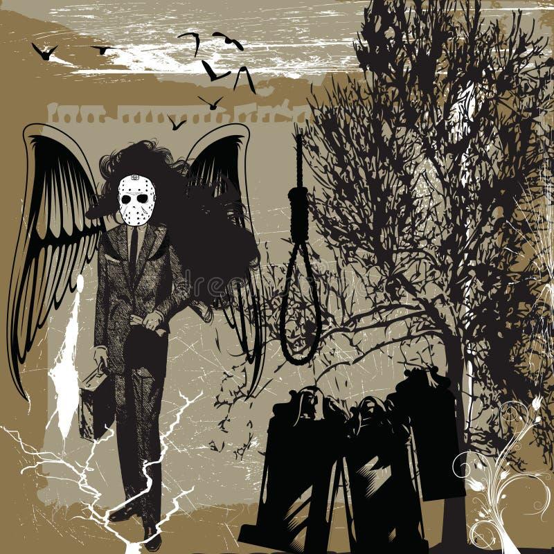 Métal de la mort illustration libre de droits