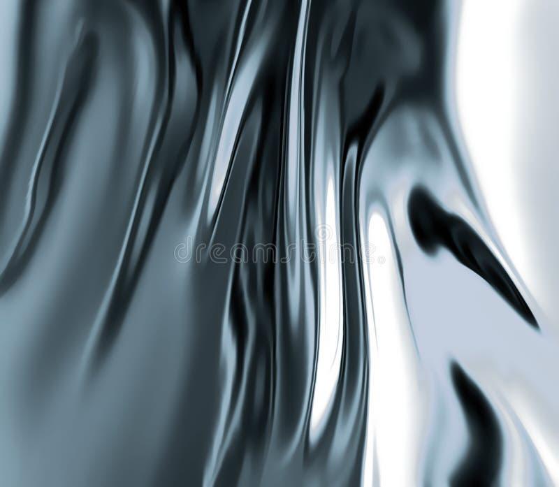 Métal liquide illustration stock