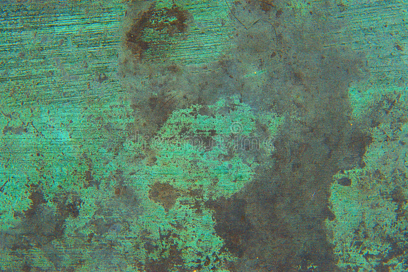 Métal oxydé photo libre de droits
