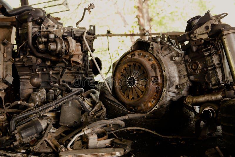 Métal, réutilisant, mitraille, acier, déchets photos stock