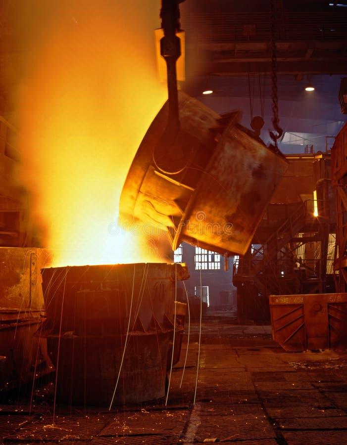 Métallurgie industrielle images stock