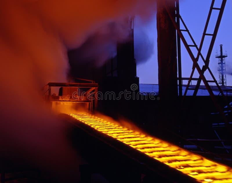 Métallurgie industrielle photographie stock libre de droits