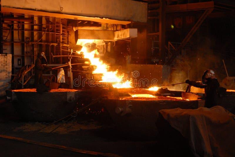 Métallurgie industrielle photo libre de droits