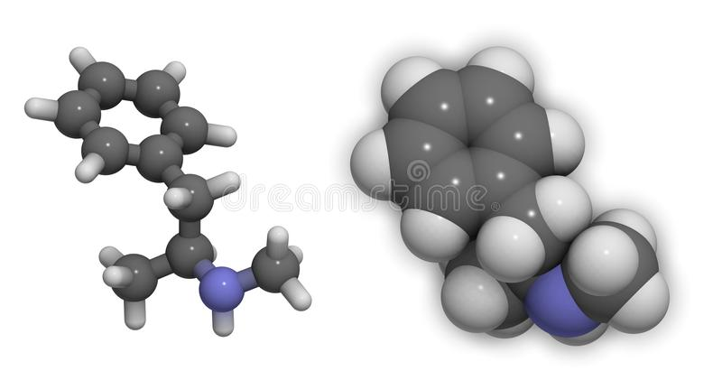 Métamphétamine (meth) illustration de vecteur