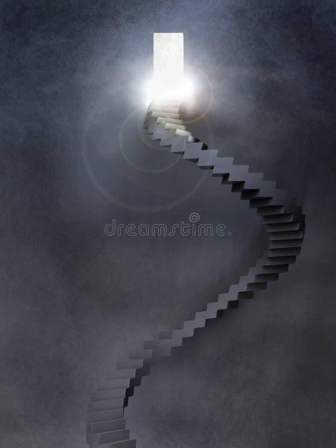 Métaphore d'espoir illustration stock