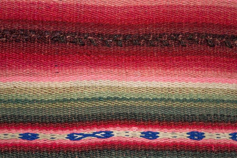 Métier à tisser andin d'Aguayo photo libre de droits