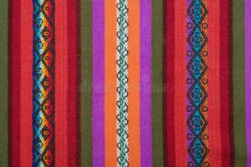 Métier à tisser andin d'Aguayo images libres de droits