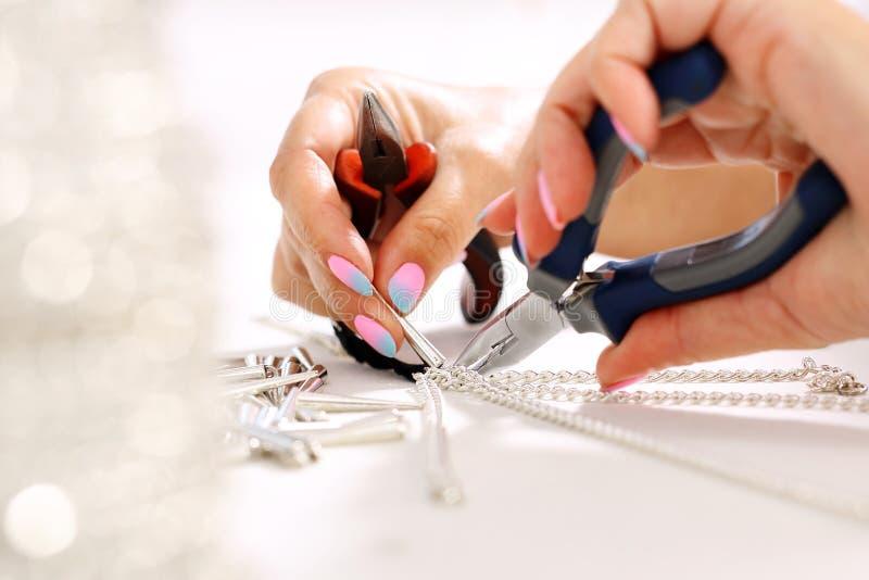 Métiers, bijoux images stock