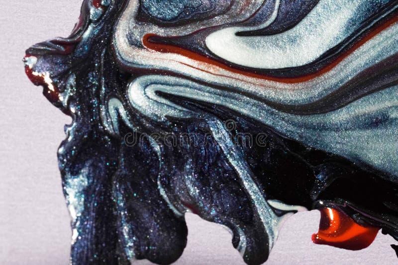 Métiers et peinture créatifs utilisant le matériel acrylique image stock