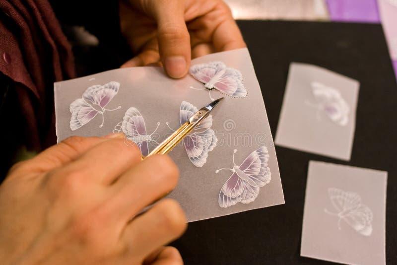 Métiers pour des invitations de mariage images libres de droits