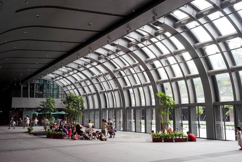 Métro Daan Park Station de Taïpeh photos stock