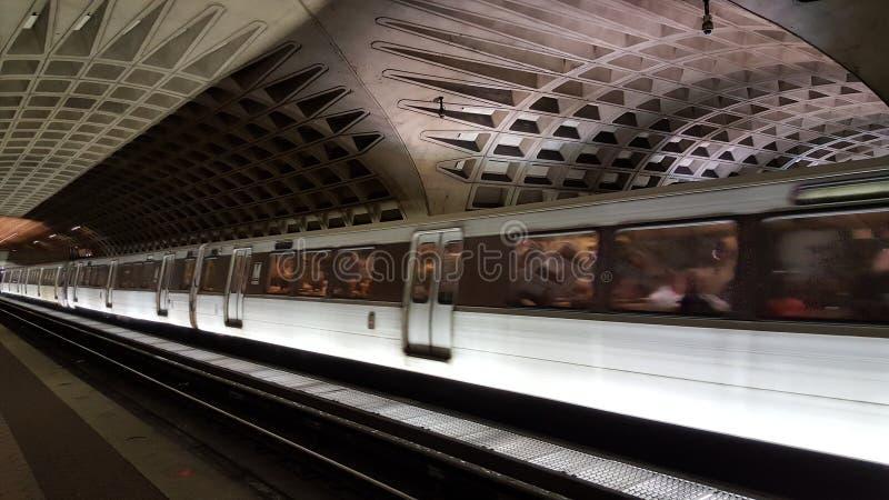 Métro dans le Washington DC images stock