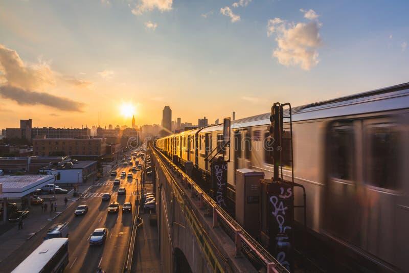 Métro de New York photographie stock libre de droits