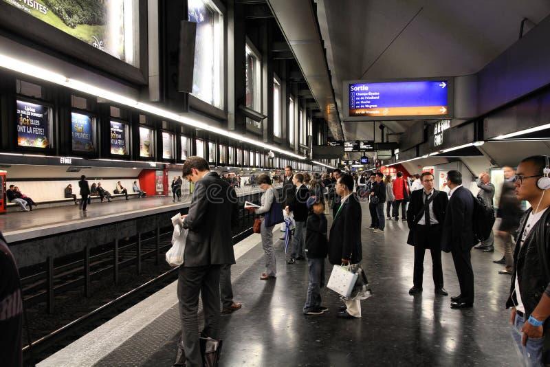 Métro de Paris photos stock