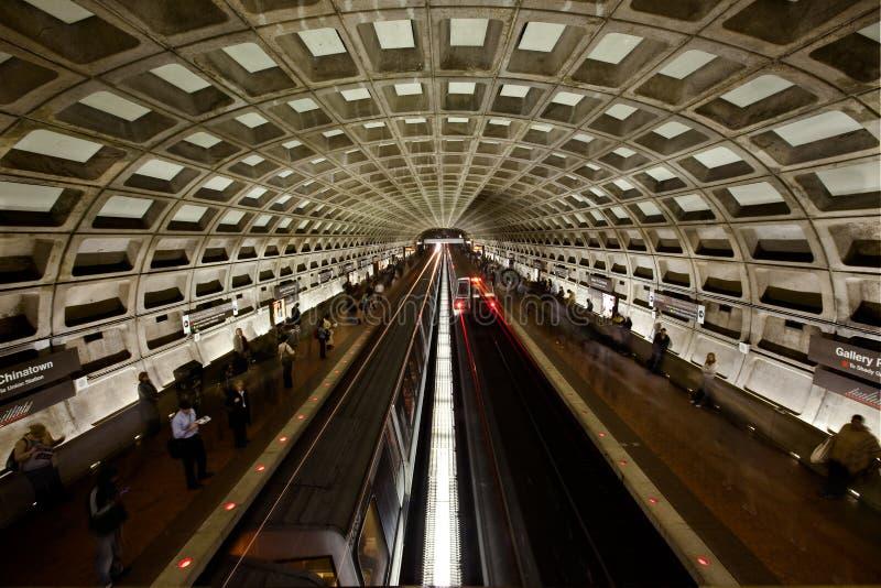 Métro de Washington DC photos libres de droits
