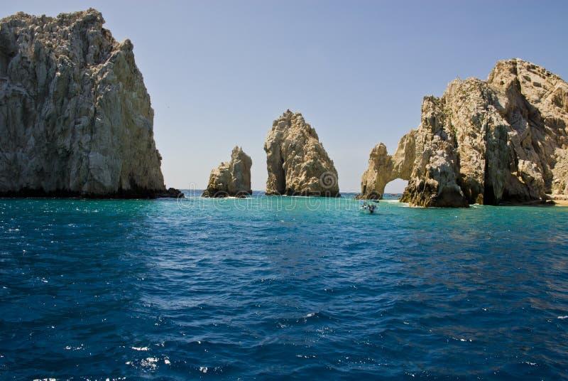 México - EL Arco de Cabo San Lucas fotos de stock
