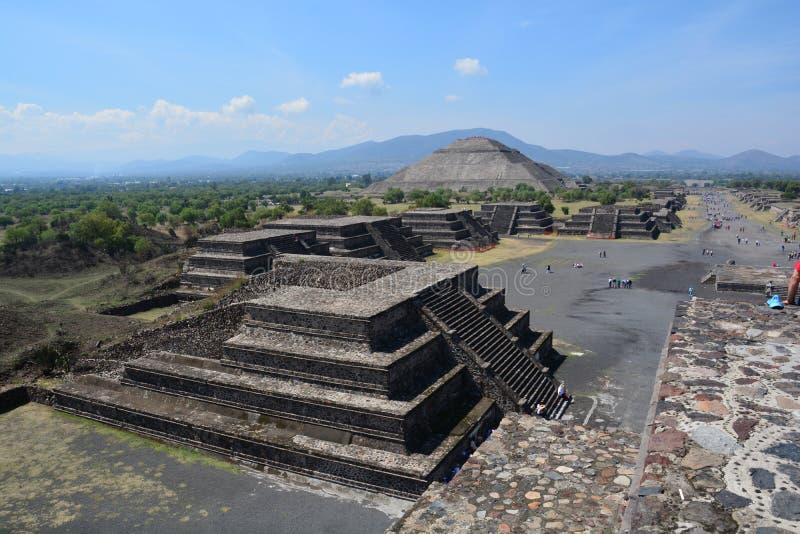 méxico teotihuacan imagem de stock royalty free