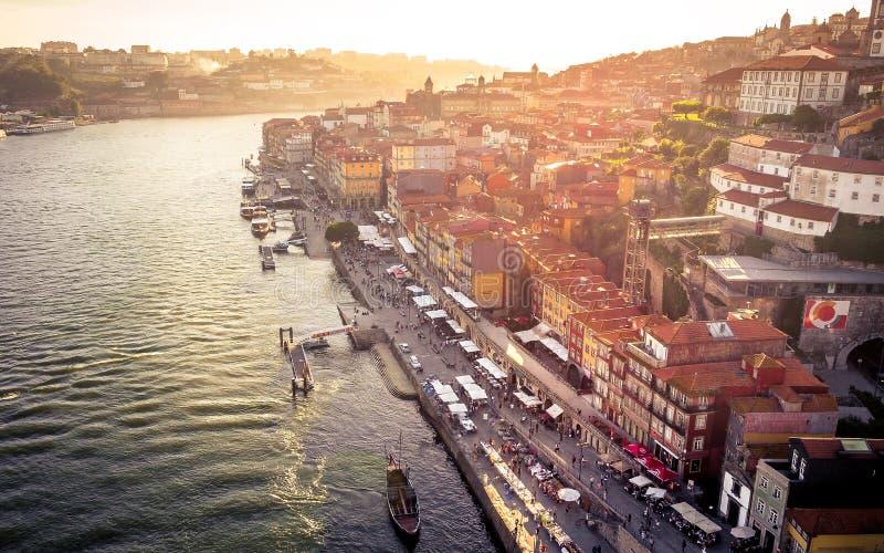 Même l'humeur à Porto, le Portugal photo stock