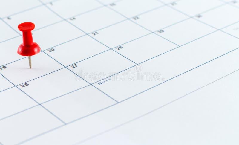 Mês da semana do dia do planejador da data de calendário foto de stock royalty free
