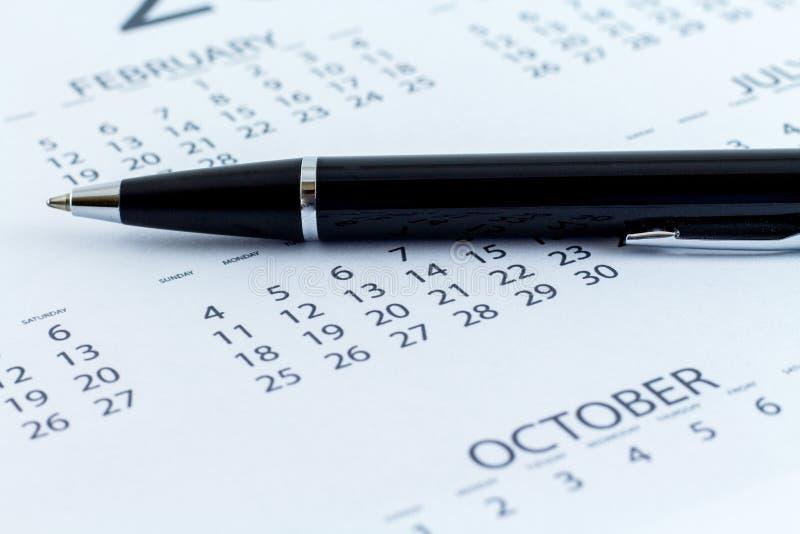 Mês da semana do dia do planejador da data de calendário fotos de stock royalty free