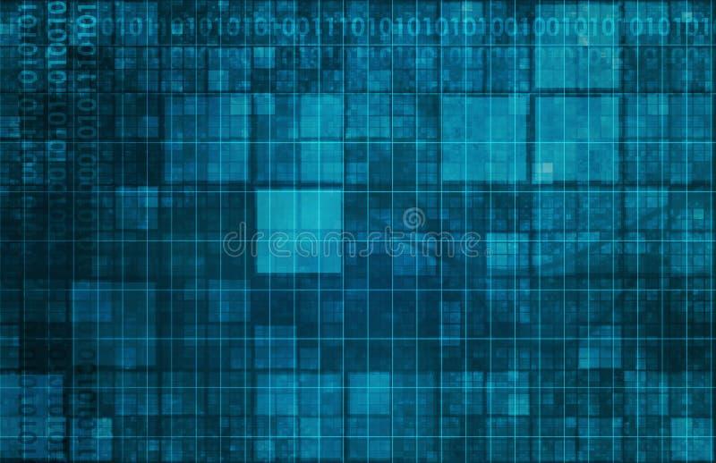 Móżdżkowy Komputerowy interfejs royalty ilustracja