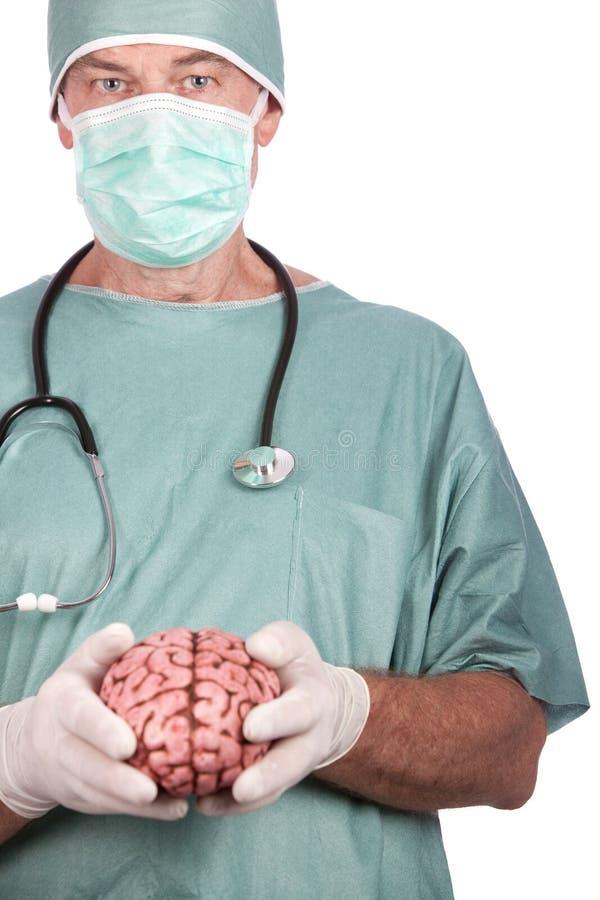 Download Móżdżkowy Mienia Samiec Chirurg Obraz Stock - Obraz złożonej z medycyna, tło: 13328835