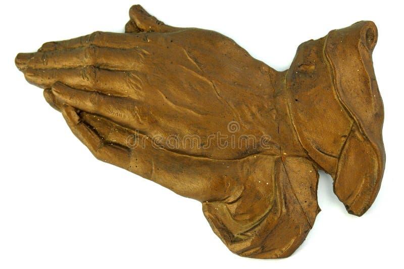 módl się białe ręce obrazy royalty free
