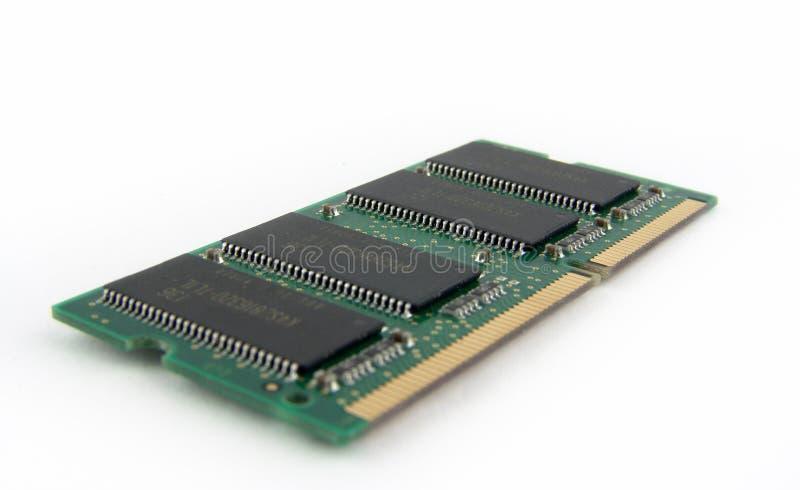 Módulo da memória de Laiptop foto de stock