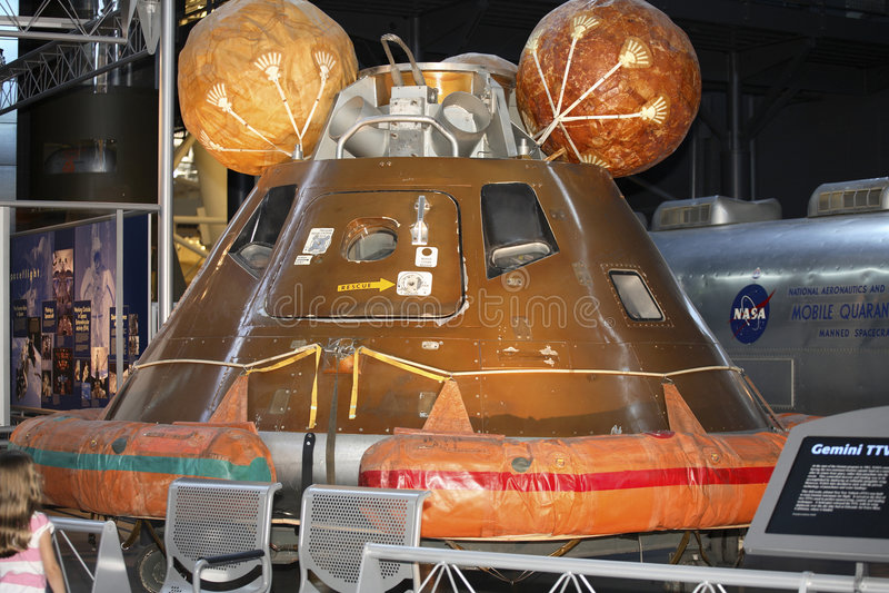 Módulo de Apollo 11 Comand imagem de stock