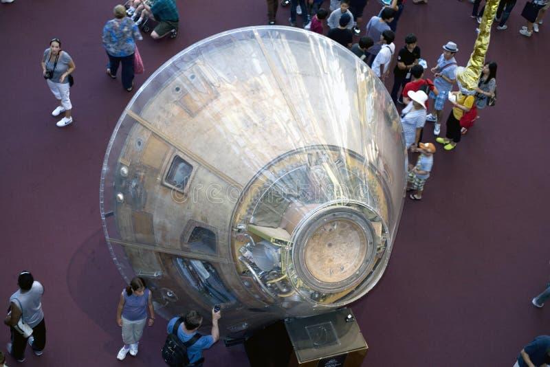 Módulo de comando de Apolo 11 fotos de archivo
