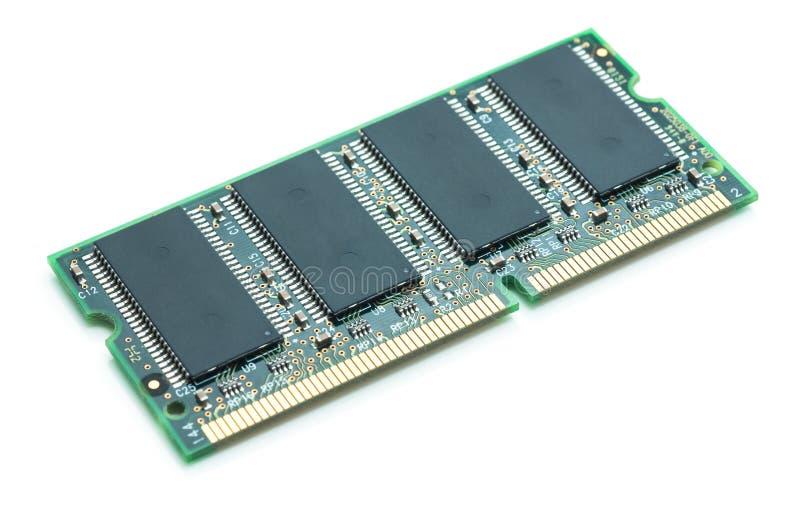 Módulo de la memoria de computadora imagenes de archivo