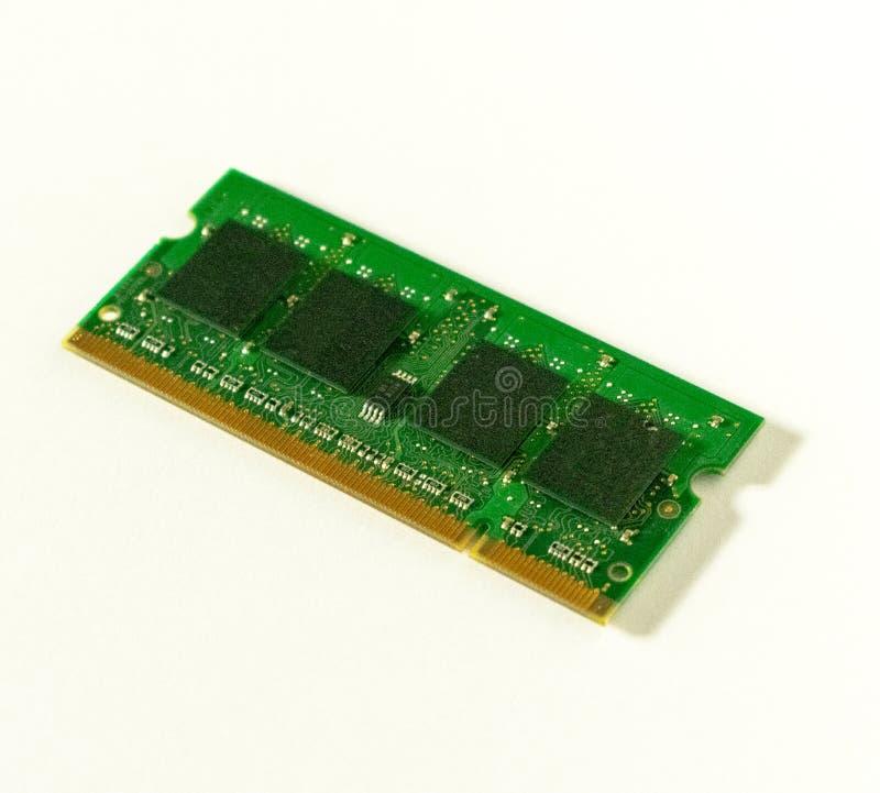 Módulo de la memoria interna para los ordenadores portátiles fotografía de archivo