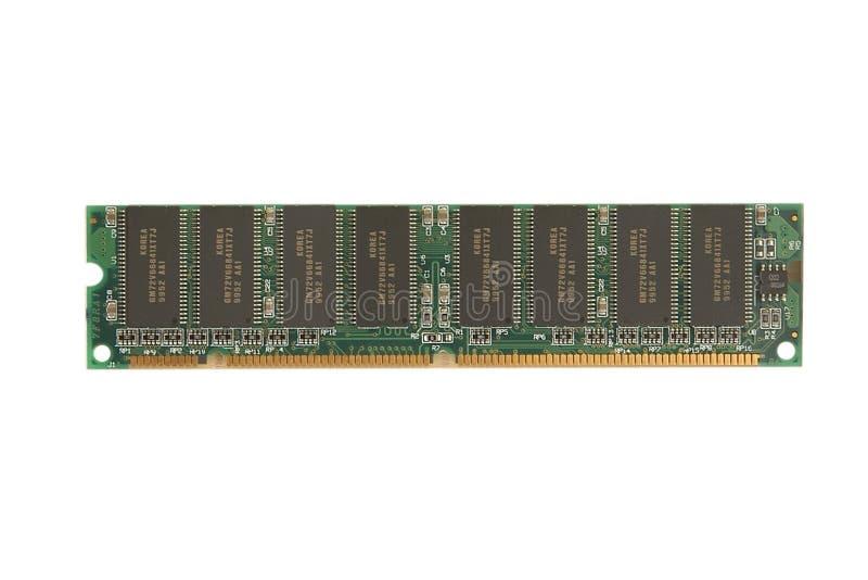Módulo De La Memoria RAM Fotos de archivo libres de regalías