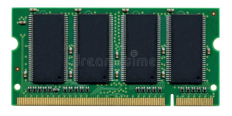 Módulo de memória do computador fotografia de stock