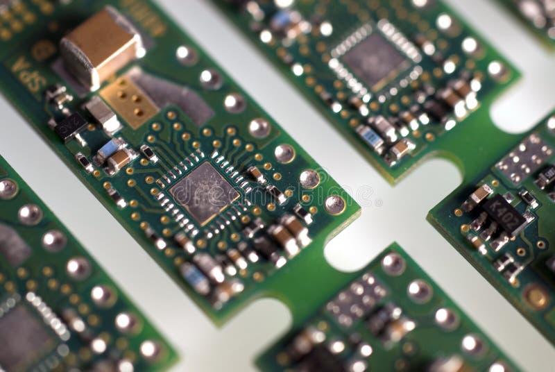 Módulo electrónico imagen de archivo