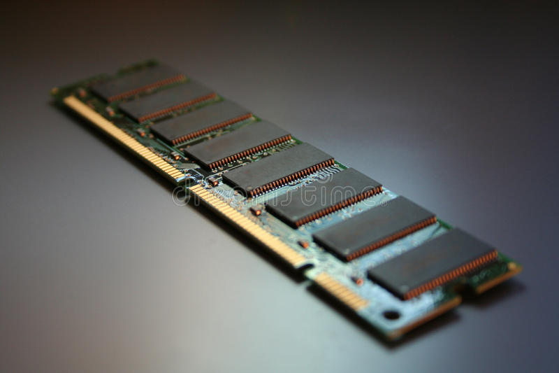 Módulo isolado do RAM foto de stock royalty free
