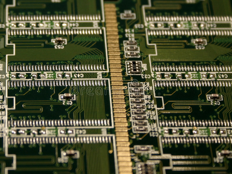 Módulos de la memoria de computadora imagenes de archivo