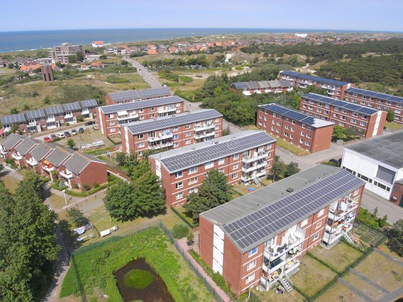 Módulos solares fotos de stock royalty free