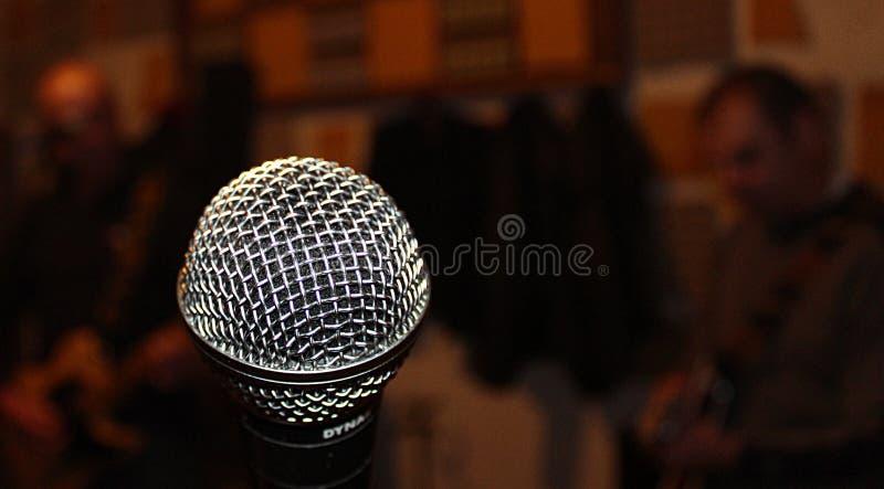 mój śpiewa piosenkę obrazy stock
