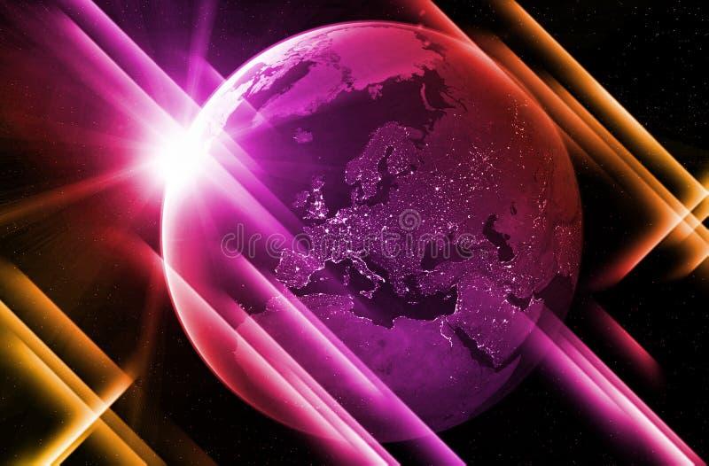 Mój świat jest różowy ilustracja wektor